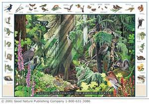Pacific Northwest Woodland Species $10.50